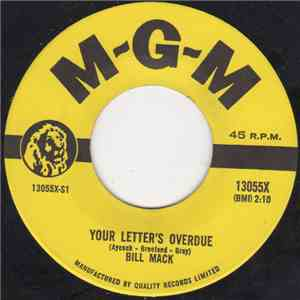 Bill Mack - Your Letter's Overdue album flac