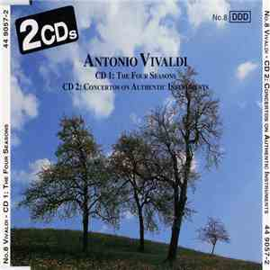 Antonio Vivaldi, Alberto Lizzio - NO.8 Vivaldi - CD:1 The Four Seasons / CD:2 Concertos On Authentic Instruments album flac