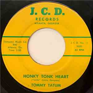 Tommy Tatum - Honky Tonk Heart / Sign On My Heart album flac