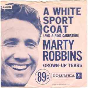 Marty Robbins With Ray Conniff - A White Sport Coat (And A Pink Carnation) album flac