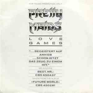 Pretty Maids - Love Games album flac
