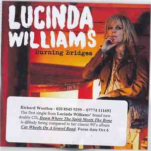 Lucinda Williams - Burning Bridges album flac