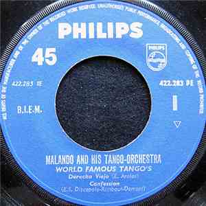 Malando And His Tango-Orchestra - World Famous Tango's album flac