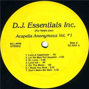 Various - Acapella Anonymous Vol. #1 album flac
