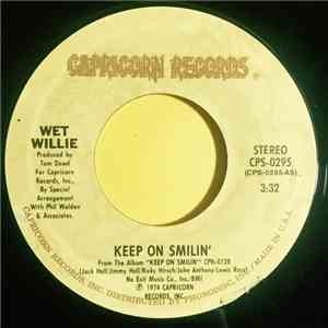 Wet Willie - Keep On Smilin' / Country Side Of Life album flac