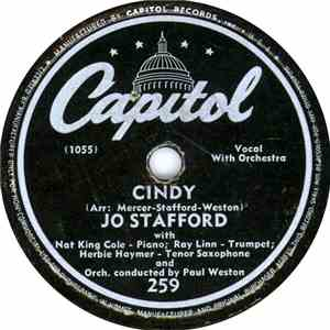 Jo Stafford - Cindy / I've Never Forgotten album flac