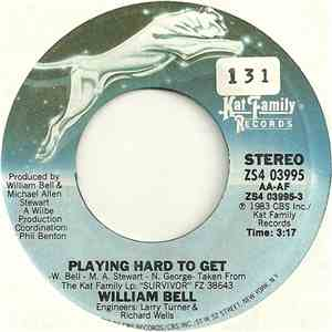 William Bell - Playing Hard To Get album flac