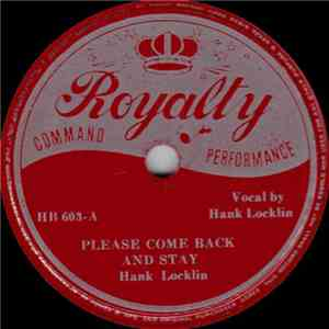 Hank Locklin - Please Come Back And Stay album flac