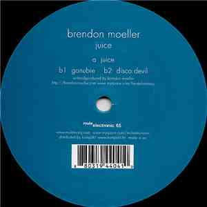Brendon Moeller - Juice album flac