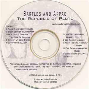 Bartles And Arpad - The Republic Of Pluto album flac