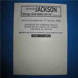 Jermaine Jackson - Strange what desire can do album flac