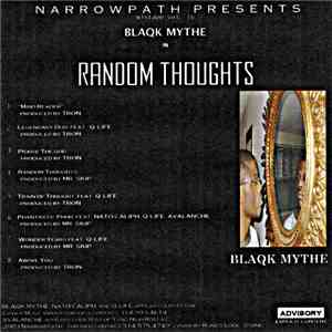 Blaqk Mythe - Random Thoughts album flac