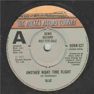 Blue  - Another Night Time Flight album flac