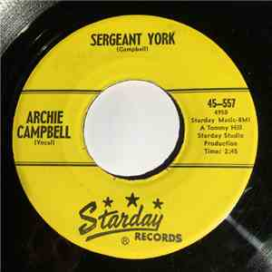 Archie Campbell - Sergeant York / Grab A Little Sunshine album flac