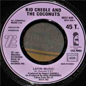 Kid Creole And The Coconuts - Latin Music / Table Manners album flac