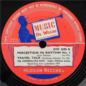 The Cosmopolitan Orch. - Perception In Rhythm No. 1 album flac