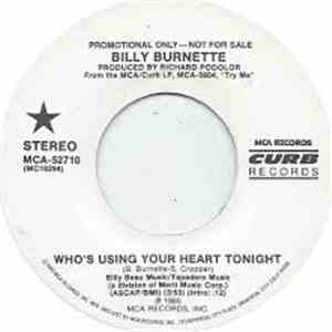 Billy Burnette - Who's Using Your Heart Tonight album flac
