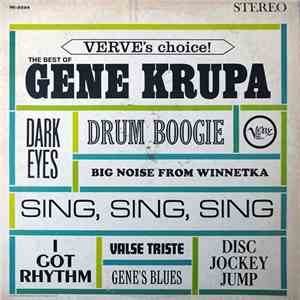 Gene Krupa - Verve's Choice! The Best Of Gene Krupa album flac