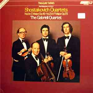 Shostakovich, The Gabrieli String Quartet - Quartet Nos. 1 & 3 album flac