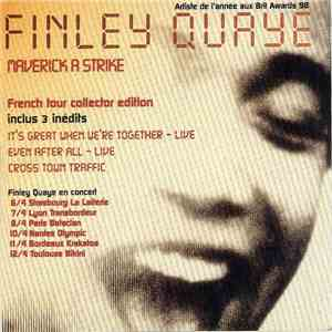 Finley Quaye - Maverick A Strike (French Tour Collector Edition) album flac