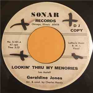 Geraldine Jones - Lookin' Thru My Memories/I'm Cracking Up album flac