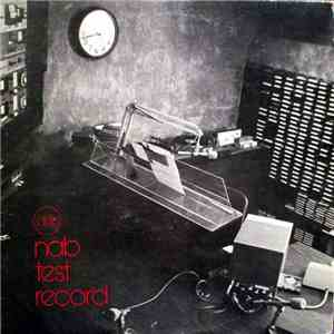 National Association Of Broadcasters - Nab Test Record album flac