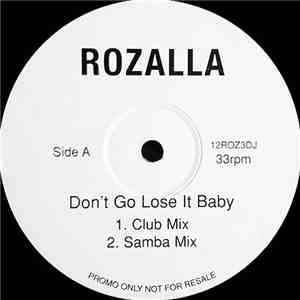 Rozalla - Don't Go Lose It Baby album flac