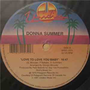 Donna Summer - Love To Love You Baby / MacArthur Park album flac