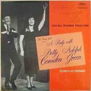 Betty Comden And Adolph Green - A Party With Betty Comden And Adolph Green album flac