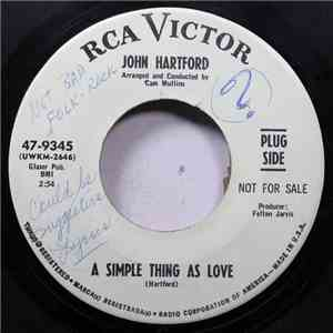 John Hartford - A Simple Thing As Love / Landscape Grown Cold album flac