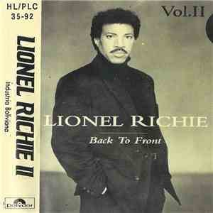 Lionel Richie - Back To Front Vol. 2 album flac